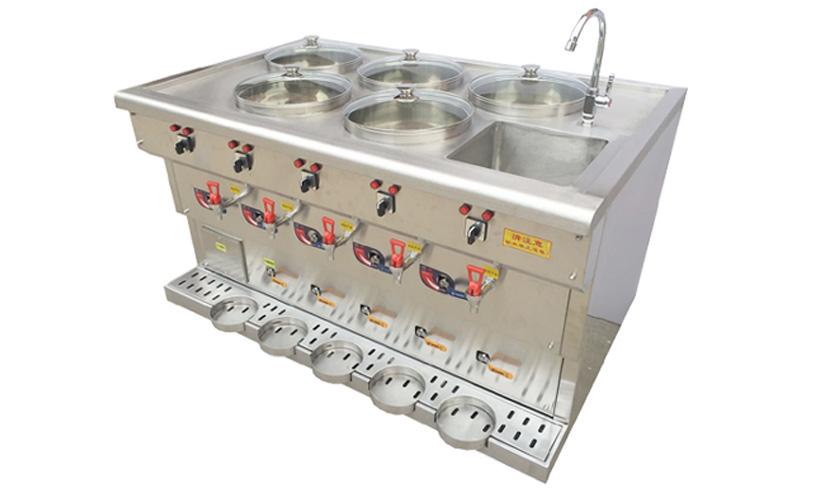 五锅电热饺子锅